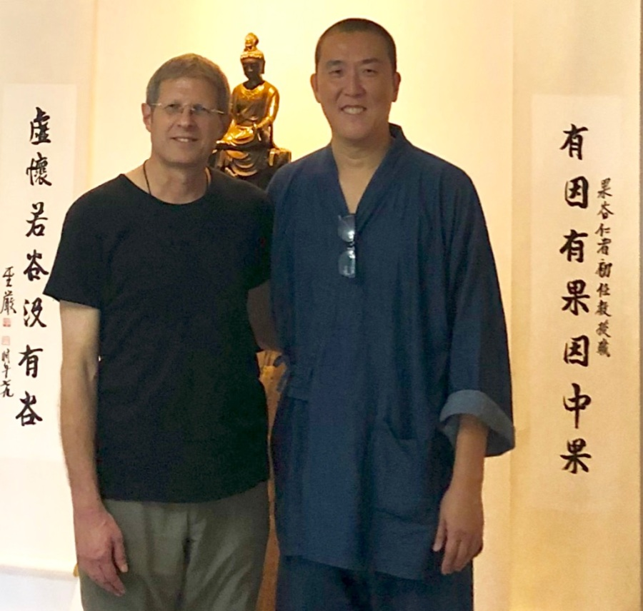 Guo Gu & Jeff at Tallahassee, Florida retreat, December 2018